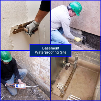 Progress Stages with Basement Waterproofing Systems