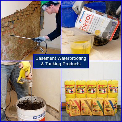 Products for Basement Waterproofing