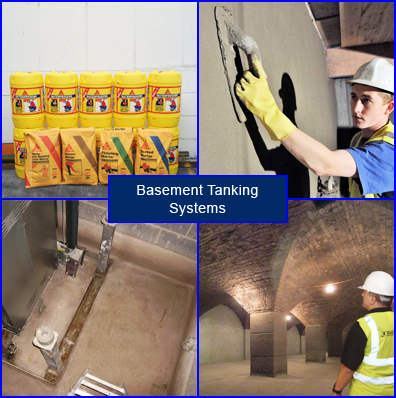 Waterproof Tanking Products and Systems for Basement Tanking